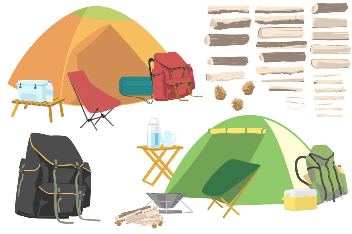 大人なら登山用テントでキャンプするのをおすすめする